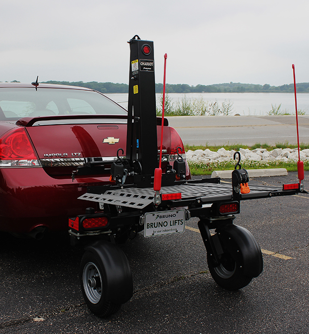 Bruno Car Scooter Vehicle Lift Installed in Appleton, WI