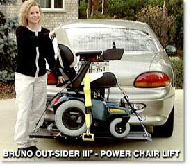 Bruno Out-sider III Power Chair Lift