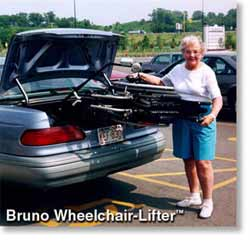 Bruno AWL 100 for Trunks Wheelchair Lifts at Erickson Mobility
