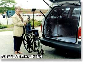 Bruno AWL 150 for Hatchbacks Wheelchair Lifts at Erickson Mobility