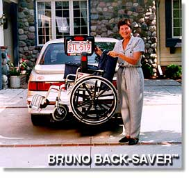 Bruno Back-Saver Wheelchair Lifts at Erickson Mobility