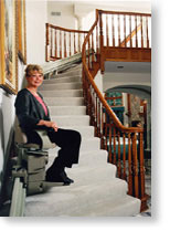 Erickson Mobility Products - Custom Curved Rail Stairlifts