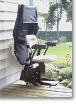 Bruno Outdoor Electra-Ride ™ Elite Stairlift